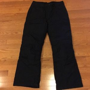 Barely worn Lands end snow pants